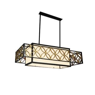 CWI Lighting Eva 4-Light Kitchen Island Pendant