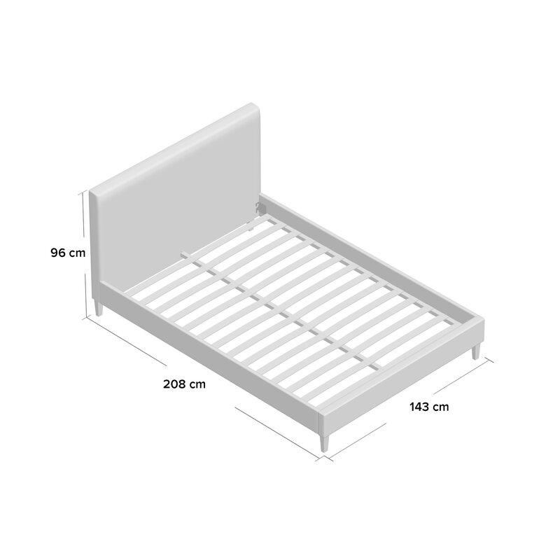 Riley Ave. Stefanie Upholstered Bed Frame & Reviews | Wayfair.co.uk