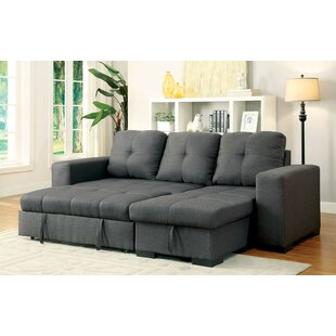 Ebern Designs Sepanek Reversible Sleeper Sectional