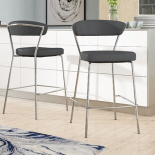 Viviana 25.6 Bar Stool (Set of 2) Wade Logan
