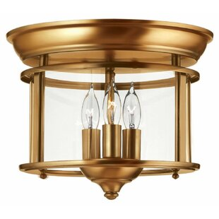 Hinkley Lighting Gentry 3-Light Flush Mount