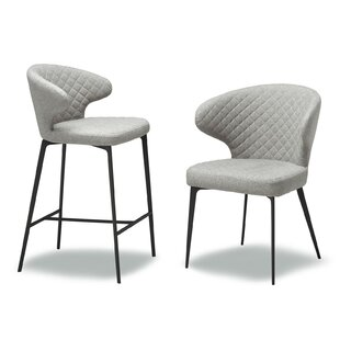 Shackelford Upholstered Dining Chair (Set of 2) Ivy Bronx