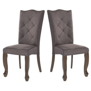 Oldack Upholstered Dining Chair (Set of 2) by Winston Porter