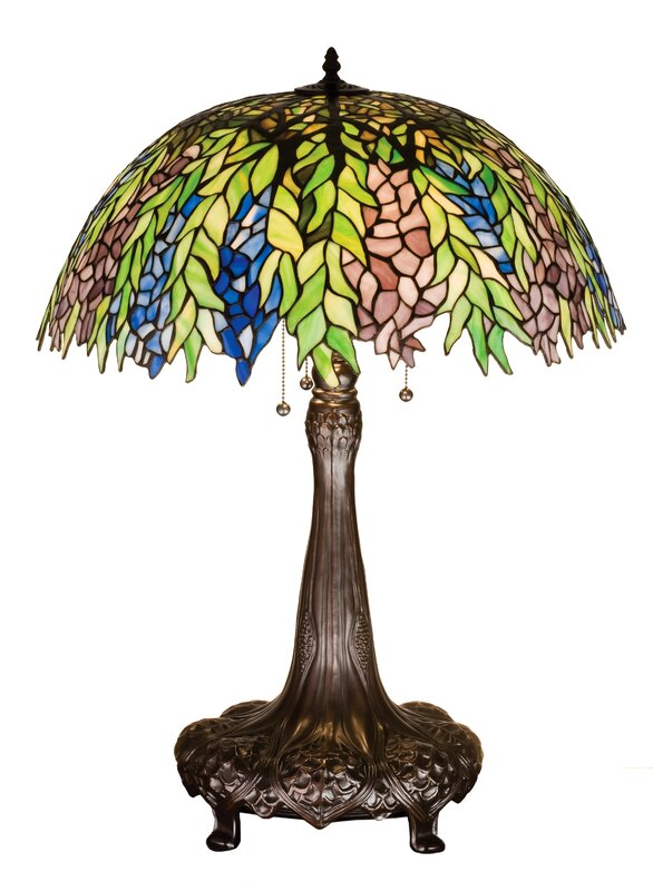 "Tiffany Locust 31"" Table Lamp"