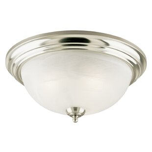 Belwood 3-Light Flush Mount by Breakwater Bay