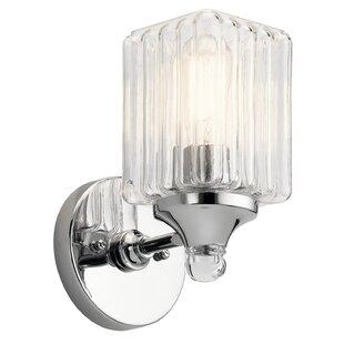 Ebern Designs Mcdougal 1-Light Armed Sconce
