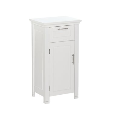 Andover Mills Reichman 16 W x 30 H Cabinet Finish: White