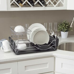 Home Basics Deluxe Dish Rack