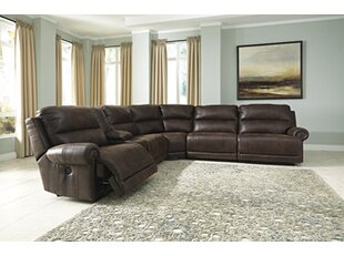 Shop Resolution Reclining Sectional by Red Barrel Studio