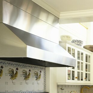 54 Professional Series 1200 CFM Ducted Wall Mount Range Hood by Vent-A-Hood