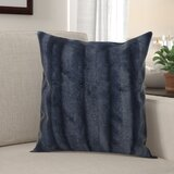 Donalsonville Indoor Faux Fur Throw Pillow (Set of 2)