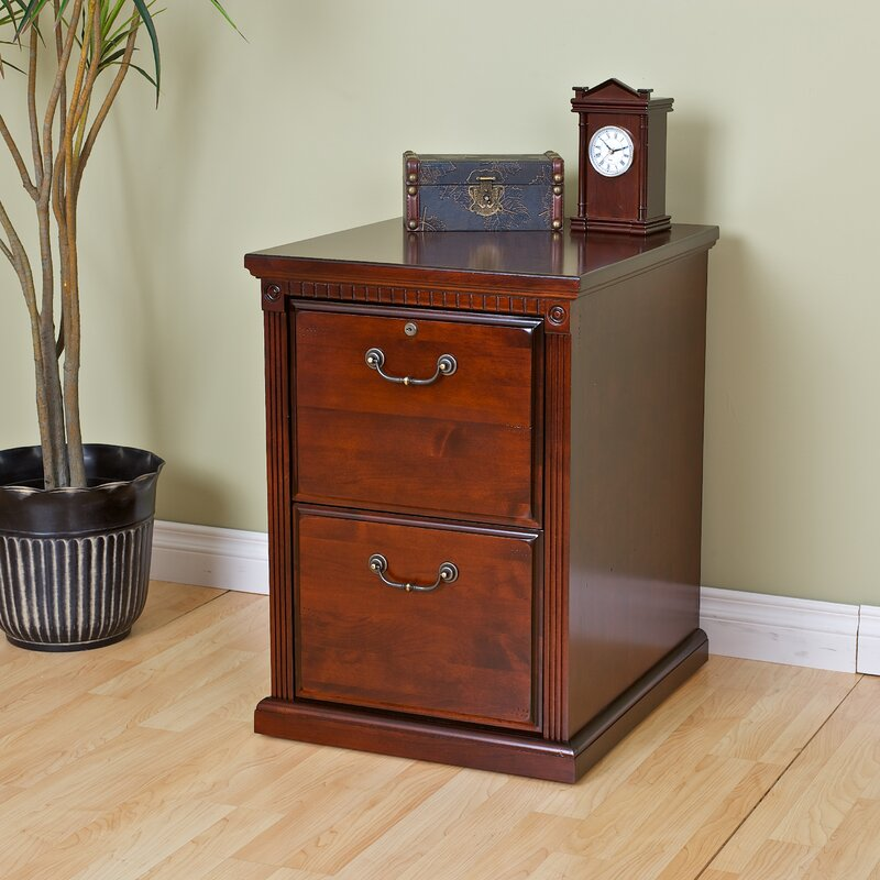 Exceptional Huntington Club 2 Drawer File Cabinet