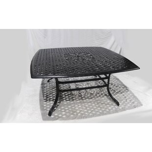 Villarreal Square Aluminum Dining Table b..
