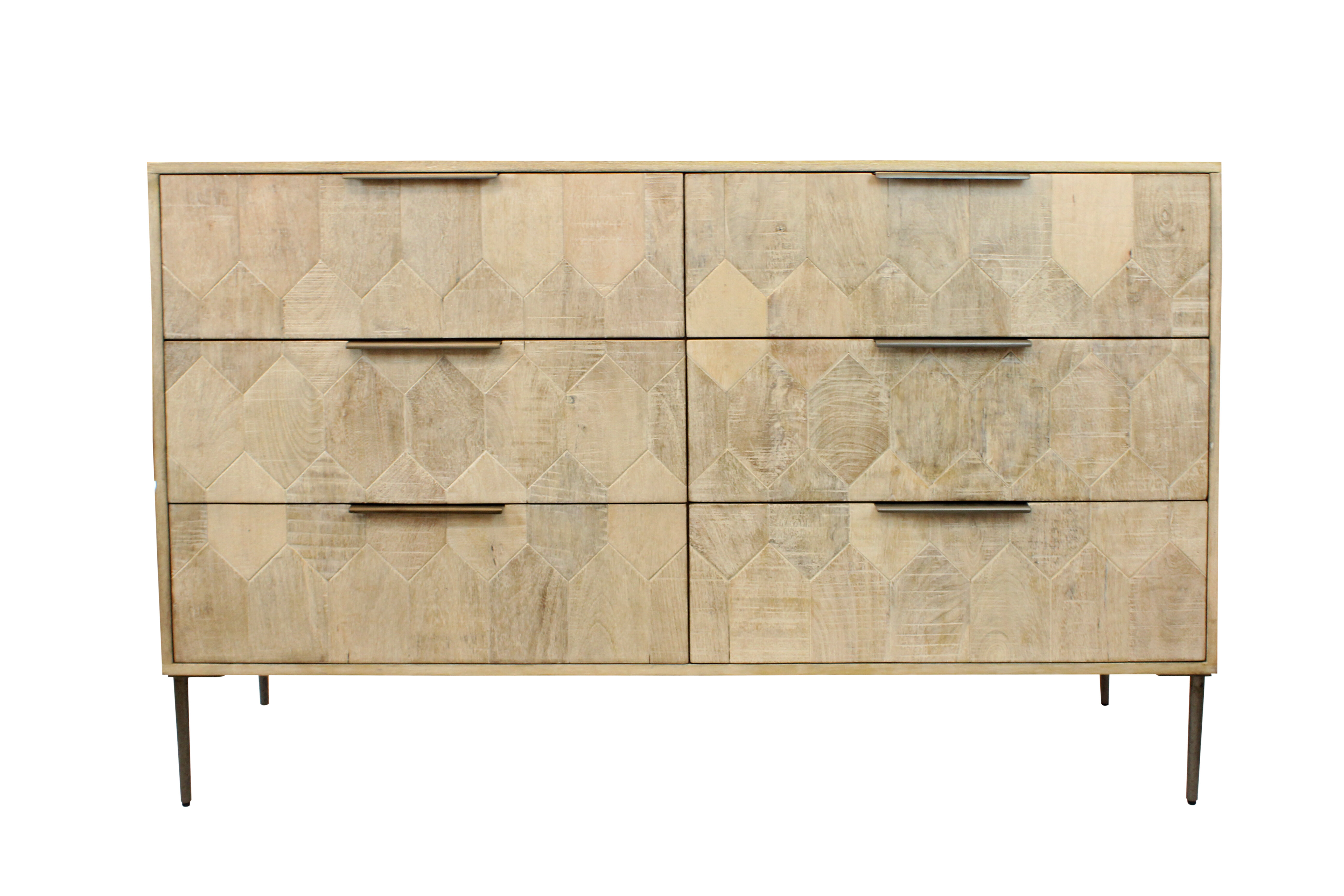 Foundry Select Hudgins 6 Drawer Double Dresser Wayfair