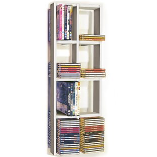 Double Multimedia Wall Mounted Storage Rack By 17 Stories