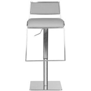 Raguel Adjustable Height Swivel Bar Stool by Orren Ellis