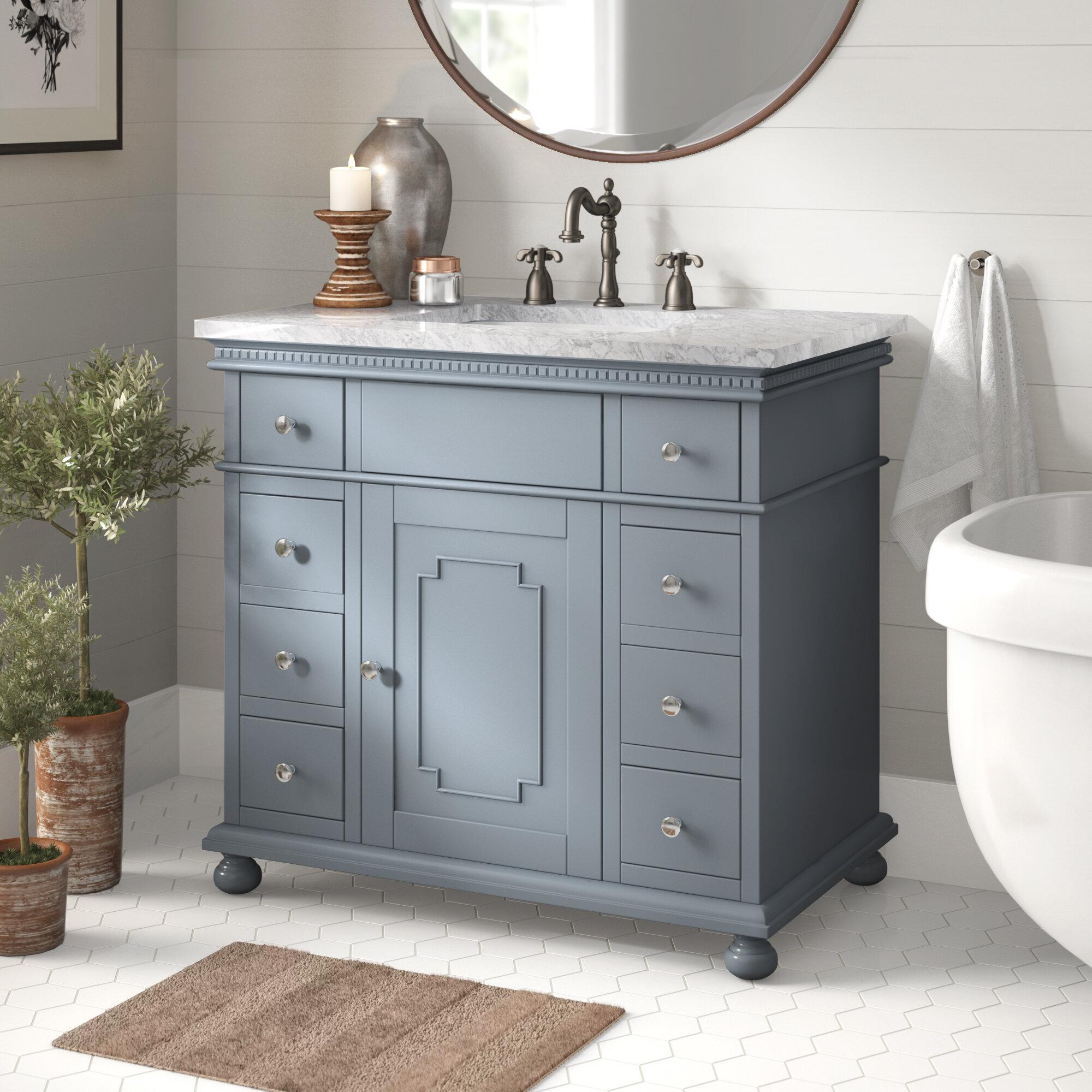 """Casie 5"""" Single Bathroom Vanity Set"""