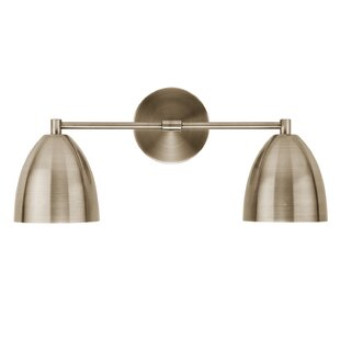 Price Check Mccloud 2-Light Armed Sconce By Wrought Studio