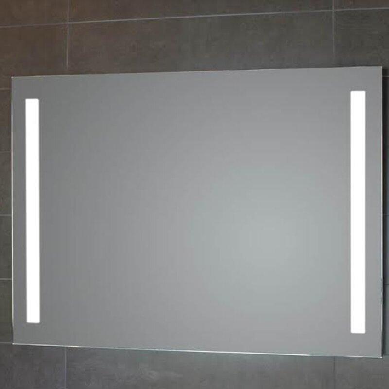 Ws Bath Collections Simply Led Lighted Bathroom Wall Mirror Wayfair