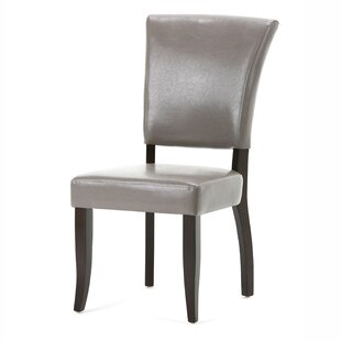 Alemany Deluxe Upholsered Dining Chair (Set of 2) Alcott Hill