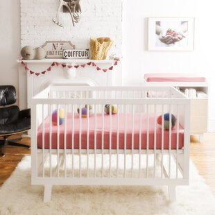 Top Reviews Javin 2-in-1 Convertible Crib By Harriet Bee