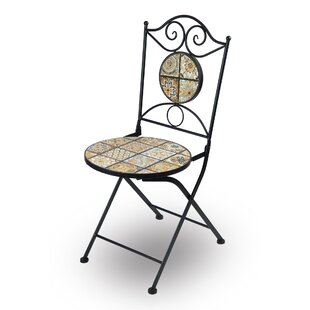 Hopeworth Folding Garden Chair (Set Of 2) By World Menagerie