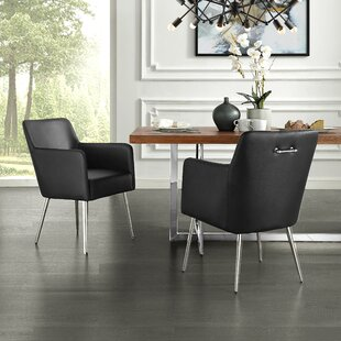 Bloomingdale Upholstered Dining Chair (Set of 2) Everly Quinn