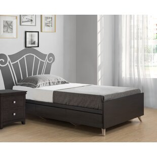 Uribe Twin Platform Bed with Drawer by Brayden Studio