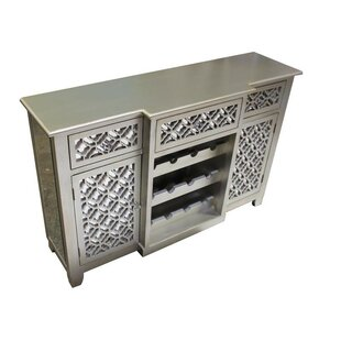 ESSENTIAL DÉCOR & BEYOND, INC 2 Door 3 Drawer Accent Cabinet