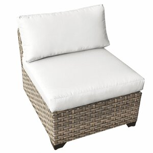 Monterey Armless Chair with Cushions (Set of 2)