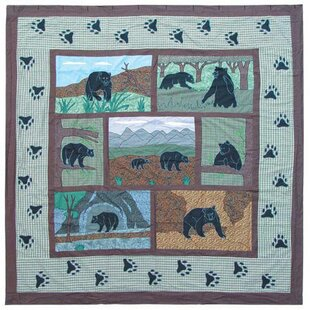 Patch Magic Bear Country Cotton Shower Curtain