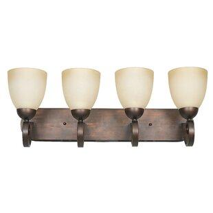 Beedeville 4-Light Vanity Light by Fleur De Lis Living