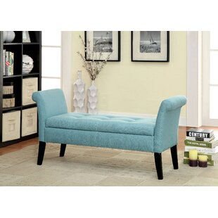 Columbus Upholstered Storage Bench by Ophelia & Co. New Design