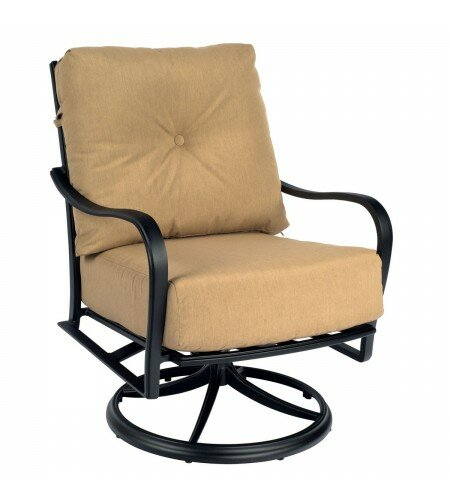 Apollo Swivel Rocker Patio Chair With Cushions