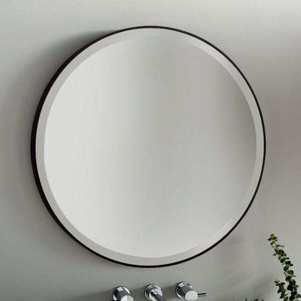 Modern Contemporary 36 In Round Mirror Allmodern
