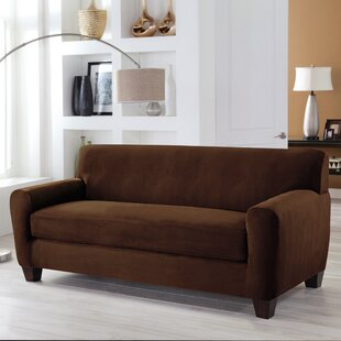 Tailor Fit Box Cushion Sofa Slipcover