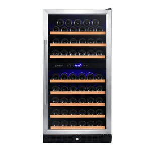 89 Bottle Dual Zone Convertible Wine Cooler by Smith & Hanks