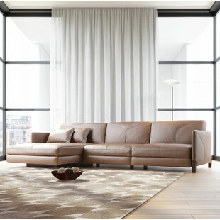 Modloft Lafayette Leather Sectional