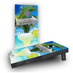 Custom Cornhole Boards Margaritaville Cornhole Boards (Set of 2)