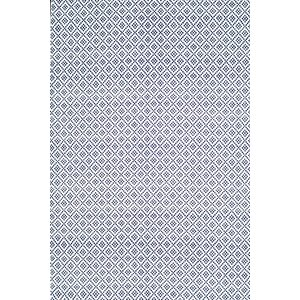 Malbrough Hand-Woven Navy Blue/White Area Rug