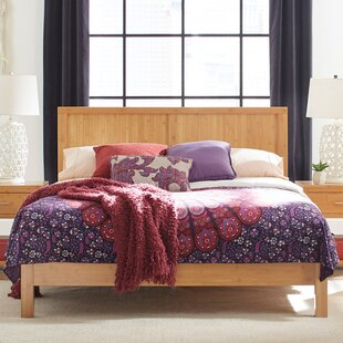 Acosta Solid Wood Low Profile Platform Bed