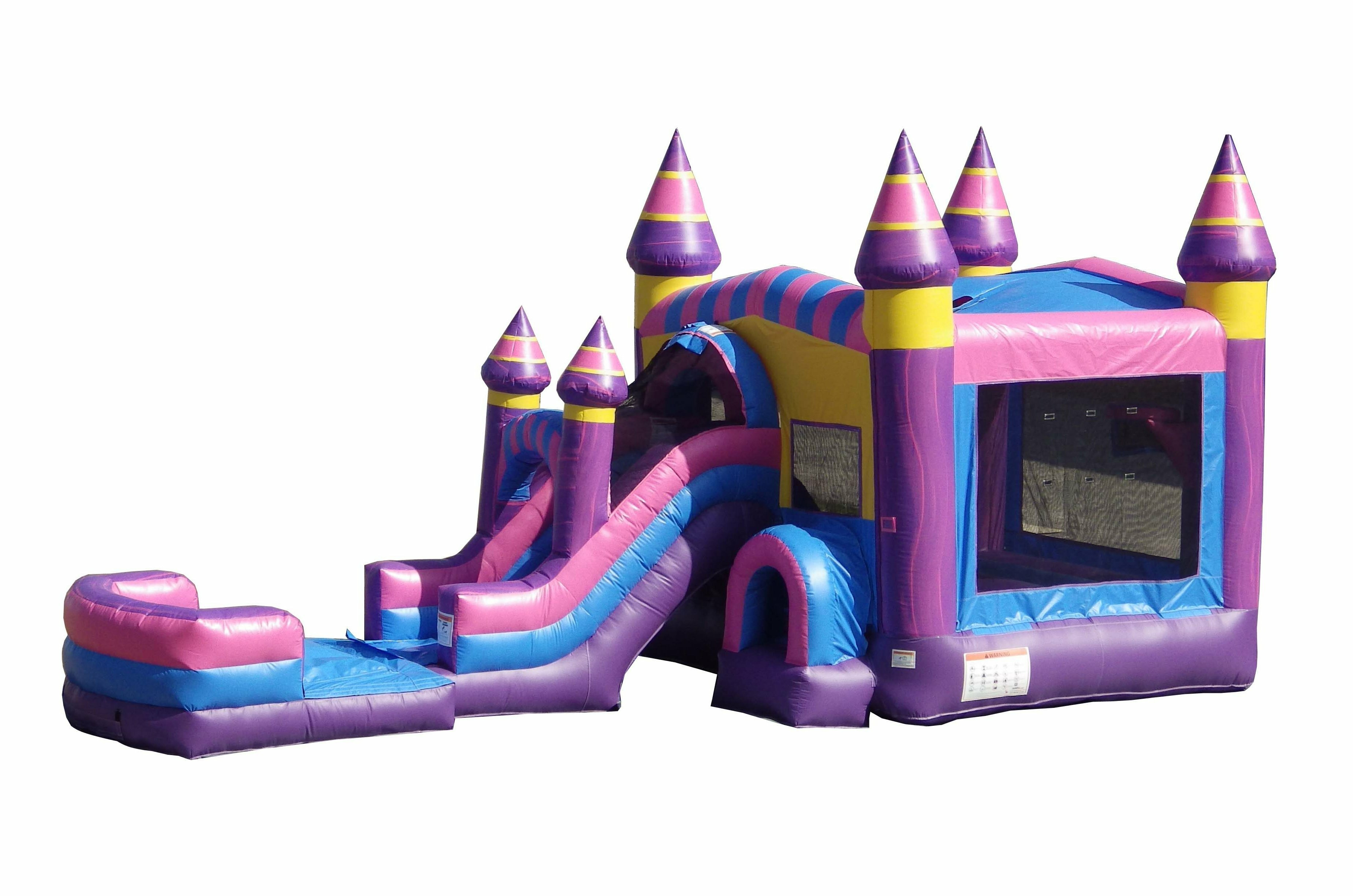 Jumporange 13 X 31 Bounce House With Water Slide And Air Blower