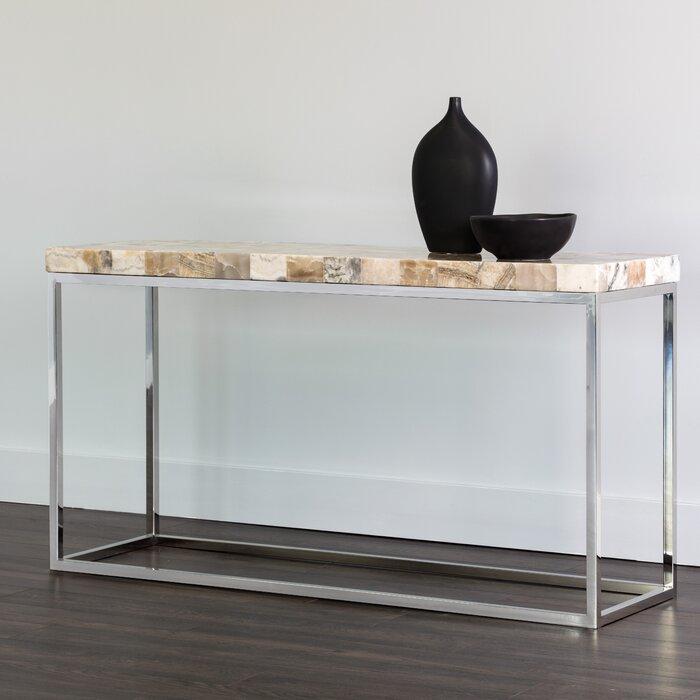 Outstanding Angelo Onyx Stone Console Table Inzonedesignstudio Interior Chair Design Inzonedesignstudiocom