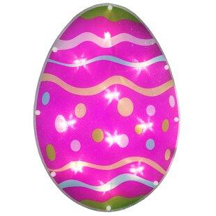 Sienna 10 Light Egg Glaze Window Decoration