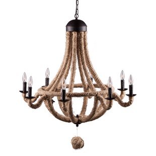 Breakwater Bay Villanova 8-Light Empire Chandelier