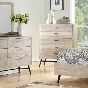 Brayden Studio Laquita 5 Drawer Chest