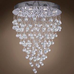 Drops of Rain 12-Light Cascade Pendant by WeGotLites