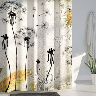 Herkimer Little Dandelion Single Shower Curtain