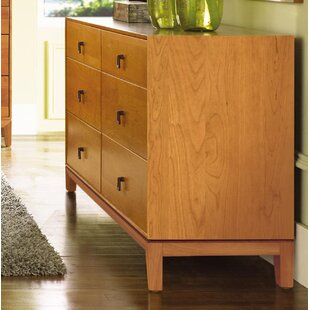 Mansfield 6 Drawer Double Dresser