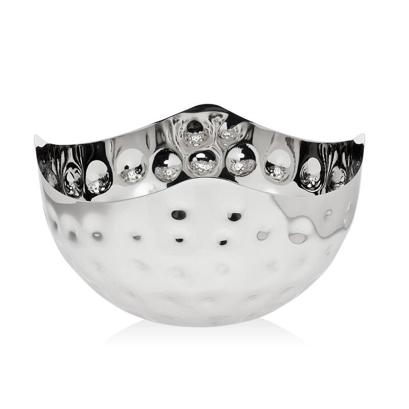 Godinger Silver Art Co Ripple Dimple 24 Fl Oz Serving Bowl Wayfair